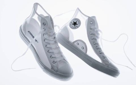 酷似OW联名!Converse透明鞋来袭!