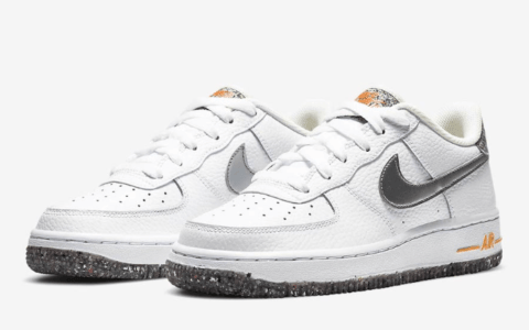 Nike可回收系列又添一员!全新AF1首度曝光! 货号:DB1558-100
