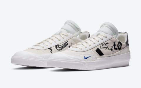 解构+手绘!全新Nike Drop Type LX即将登场! 货号:CJ5642-100