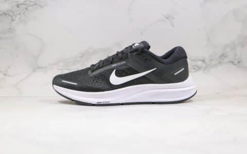 耐克Nike Zoom Structure 23纯原版本登月23代黑白色慢跑鞋内置Zoom气垫缓震 货号:CZ6720-001