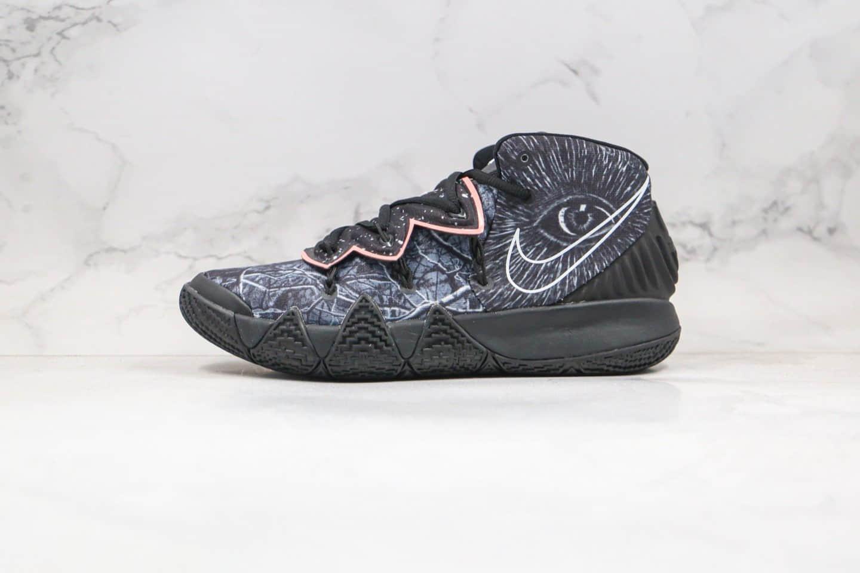 耐克Nike KYBRID S2 EP纯原版本欧文S2实战篮球鞋黑色涂鸦内置气垫区别市面通货版本 货号:CT1971-001