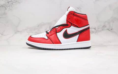 乔丹Air Jordan 1 Bloodline 2.0公司级版本高帮AJ1芝加哥2.0白黑红色正确后跟定型 货号:555088-129