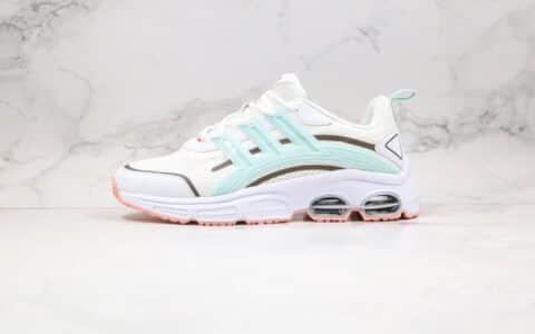 阿迪达斯Adidas QUADCUBE纯原版本清风系列白蓝色慢跑鞋原鞋开模一比一打造 货号:FX0271