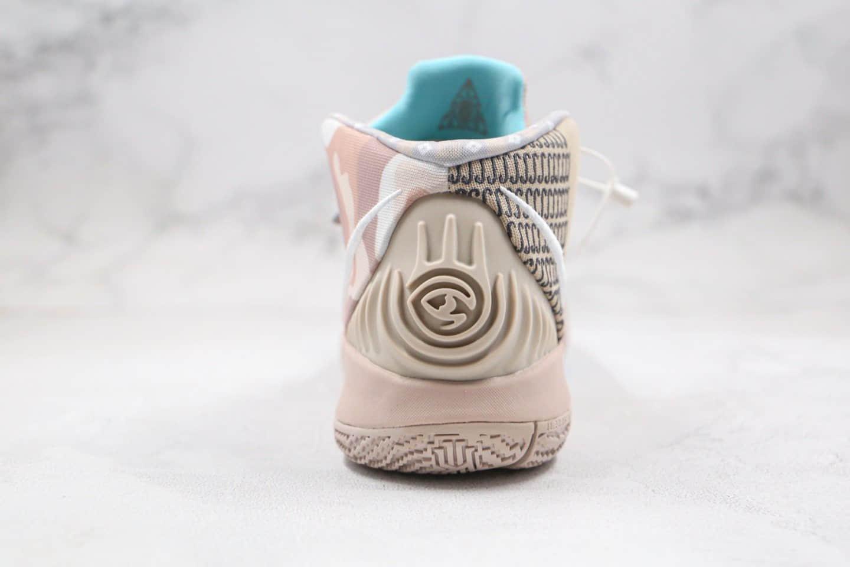 耐克Nike Kybrid S2 EP纯原版本欧文S2香槟色篮球鞋内置气垫支持实战 货号:CT1971-200