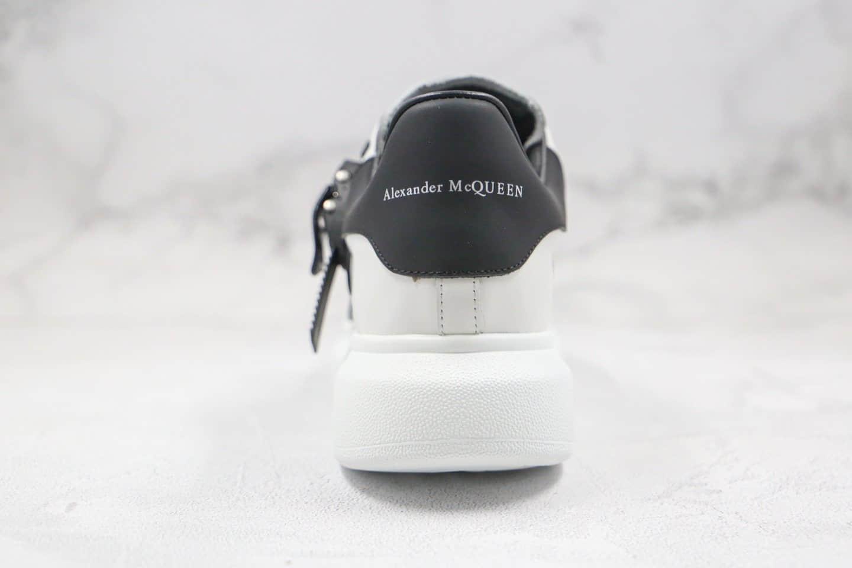 亚历山大Alexander McQueen sole sneakers纯原版本麦昆厚底魔术扣机能风小白鞋原盒配件齐全