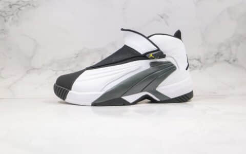 乔丹Air jordan JUMPMAN Swift纯原版本复刻男士实战战靴篮球鞋黑白色原盒原标支持实战 货号:AT2555-100