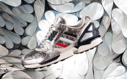 锡箔纸做的鞋?Concepts x adidas ZX 9000 联名首度曝光!下月发售!