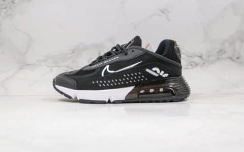 耐克Nike Air VaporMax 2090纯原版本内马尔联名款Max2090皮面气垫鞋黑白色原楦头纸板打造 货号:CU9371-011