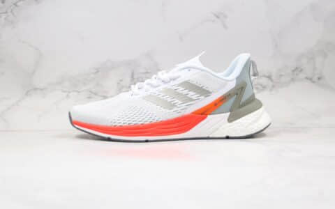 阿迪达斯Adidas RESPONSE SR-l.PACE 5.0纯原版本爆米花跑鞋超级速度灰红色原盒原标 货号:FX4835
