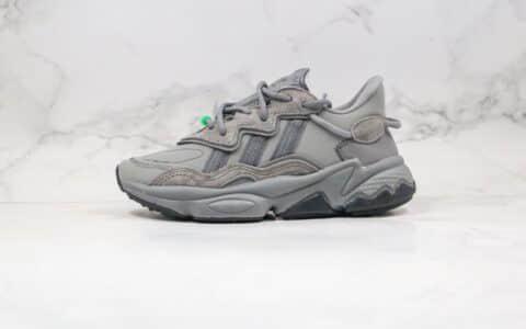 阿迪达斯Adidas Originals Ozweego纯原版本三叶草水管老爹鞋灰色原档案数据开发原盒原标 货号:EE7001