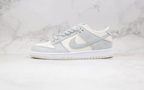 耐克Nike SB Dunk Low纯原版本低帮SB DUNK板鞋海盐米白浅蓝灰色内置Zoom气垫 货号:AR0778-006