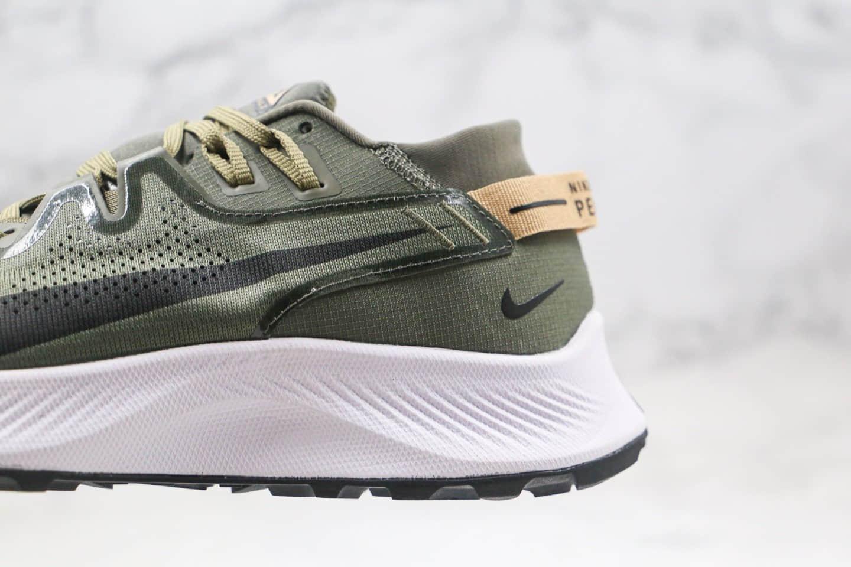 耐克Nike Zoom Pegasus Trall 2纯原版本登月系列超级飞马2代越野跑鞋橄榄绿配色原盒原标内置气垫 货号:CK4305-300