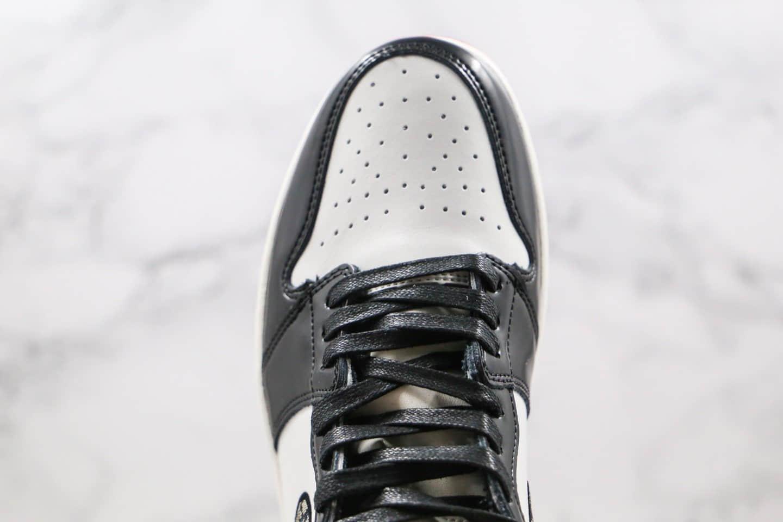 乔丹Air Jordan 1 x Dior公司级版本迪奥联名款高帮AJ1黑红脚趾原楦头纸板打造正确鞋盒 货号:CN8607-006