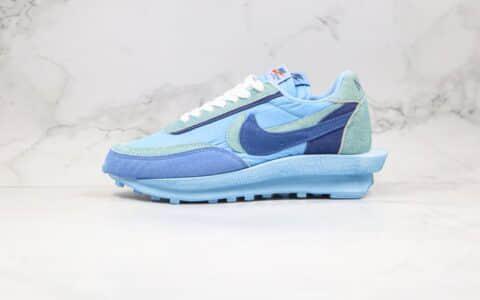 耐克Nike LVD Waffle Daybreak x Sacai纯原版本联名款华夫双钩走秀鞋蓝色原盒原标正确鞋面材质 货号:BV0073-401