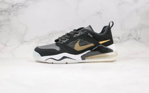 耐克Nike Air Jordan Mars 270纯原版本乔丹270气垫篮球鞋黑金色原鞋开模一比一打造 货号:CK1196-017