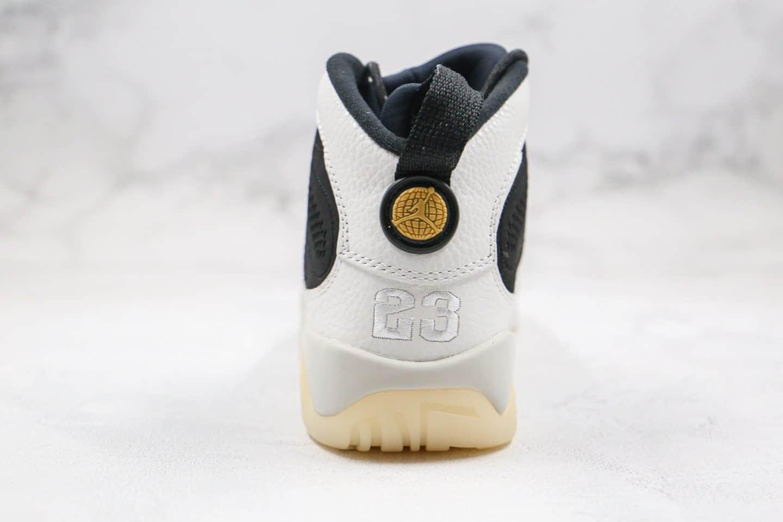乔丹Air Jordan 9 LA纯原版本全明星配色AJ9黑白熊猫篮球鞋原档案数据开发支持实战 货号:302370-021