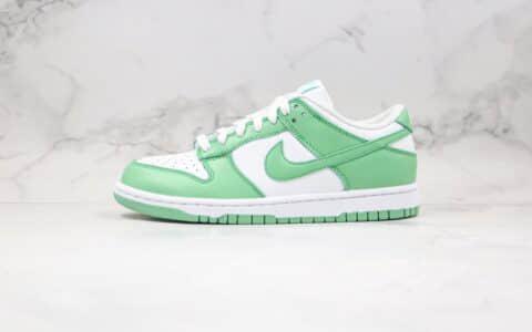 耐克Nike SB Dunk Low Green Tender powder 2021纯原版本低帮SB DUNK板鞋环保主题嫩巴黎草绿色内置气垫原楦头纸板打造 货号:CU1726-188