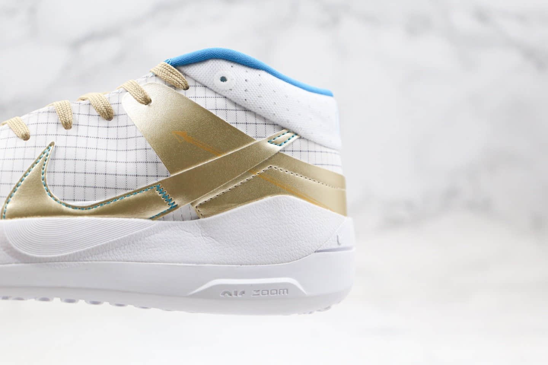 耐克Nike Zoom KD13 EP纯原版本杜兰特13代篮球鞋白金色内置气垫支持实战 货号:CI9948-901