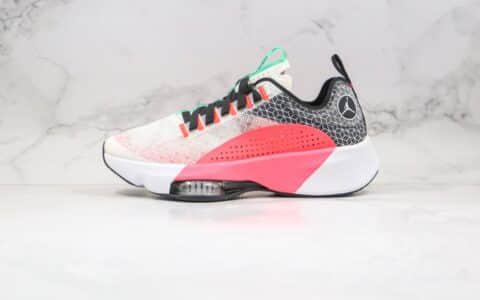 乔丹Air Jordan zoom renegade纯原版本蝉翼跑鞋马拉松灰粉色原档案数据开发 货号:CJ5383-002