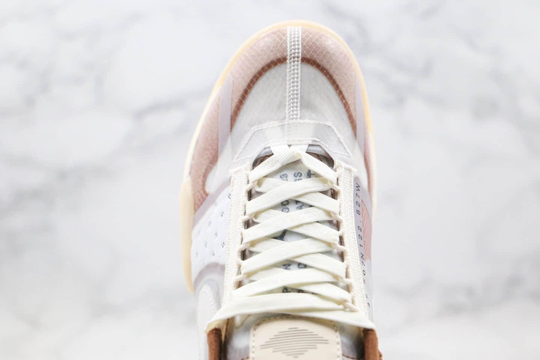 乔丹Air Jordan Delta SP纯原版本火星老爹鞋陈冠希主理款棕色绿绿尾拼接原档案数据开发 货号:CW0783-104
