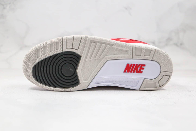 乔丹Air jordan 3 Tanker纯原版本白红色换钩AJ3篮球鞋内置气垫原盒原标 货号:CJ0939-100