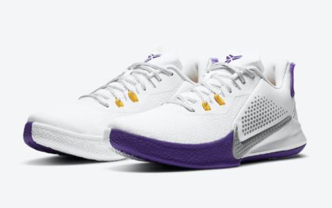 科比新战靴Nike Mamba Fury湖人配色现已发售! 货号:CK2088-101
