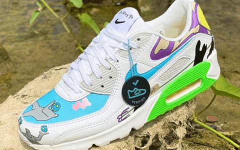 王若晗 x Nike第二款联名曝光!这次是Air Max 90!