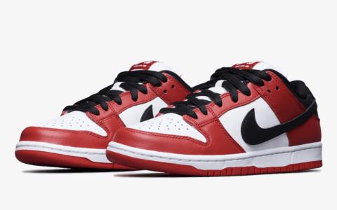 "Nike SB Dunk Low""芝加哥""官图释出!8月21日发售! 货号:BQ6817-600"