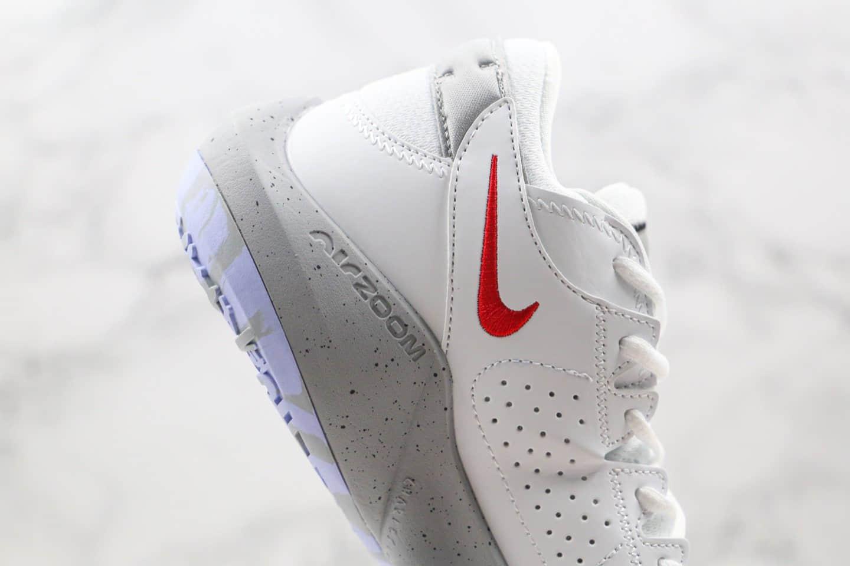 耐克Nike Zoom Freak 2纯原版本字母哥二代白紫灰色实战篮球鞋内置气垫原档案数据开发 货号:CK5424-101