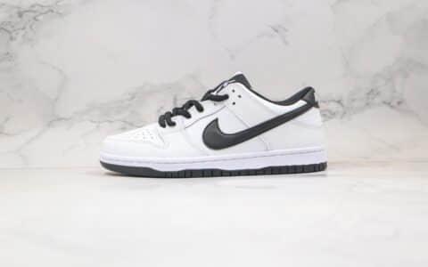"""耐克Nike Dunk Low Pro SB IW""""Panda""""公司级版本低帮Dunk熊猫限定白黑色内置缓震Zoom气垫 货号:819674-101"""