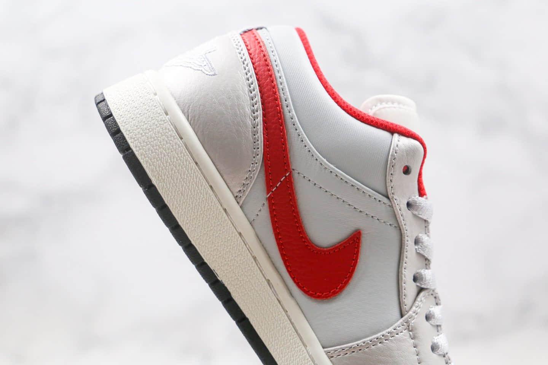 乔丹Air Jordan 1 Low纯原版本低帮AJ1银红色原鞋开模 货号:DA4668-001