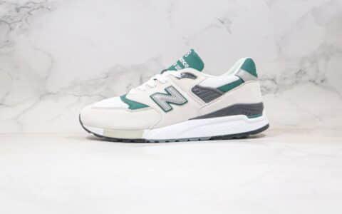 新百伦NB998白绿色纯原版本复古慢跑鞋出货