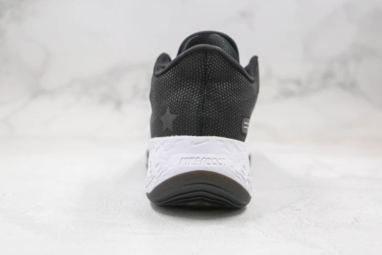 耐克Nike Air Zoom BB NXT EP纯原版本瑞亚超跑马拉松篮球鞋黑白色内置气垫缓震 货号:CK5708-005