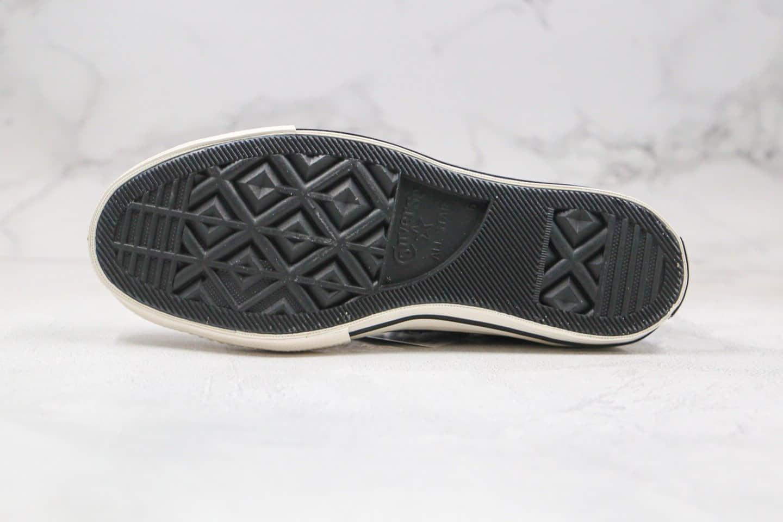 匡威Converse chuck70 Happy Camper公司级版本高帮渐变紫色笑脸硫化板鞋原楦头纸板打造 货号:167635C