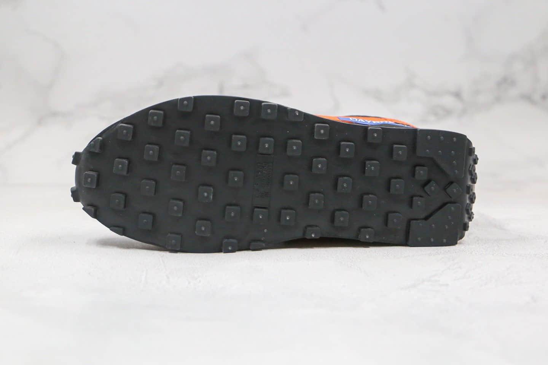 耐克Nike Daybreak纯原版本华夫东京奥运会限定款小口袋黑橙色慢跑鞋原楦头纸板打造 货号:DC5206-010