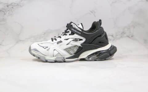 巴黎世家Balenciaga Track 4.0纯原版本复古老爹鞋四代黑白色原盒配件齐全原鞋开模一比一打造