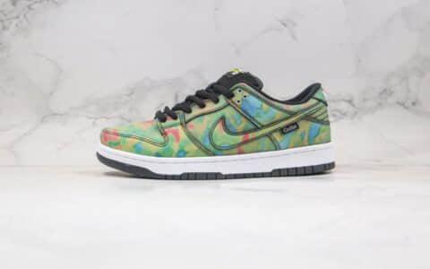 耐克Nike Dunk Low Pro SB QS Thermography x Civilist联名款纯原版本低帮SB DUNK热成像温变板鞋原厂温变鞋盒 货号:CZ5123-001