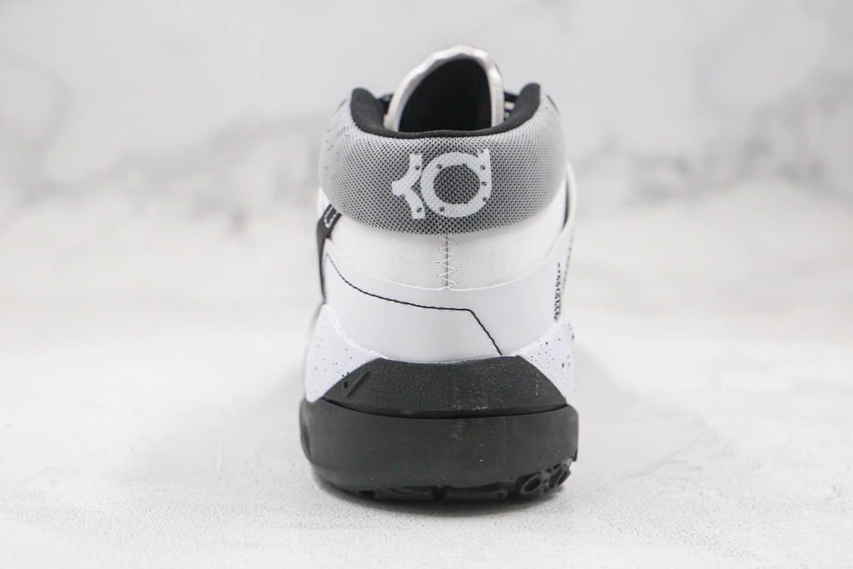耐克Nike Zoom KD13 EP纯原版本杜兰特13代篮球鞋黑白奥利奥配色内置气垫支持实战 货号:CI9948-100