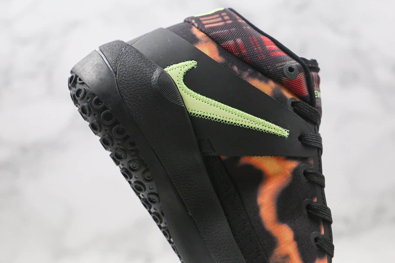 耐克Nike Zoom KD13 EP纯原版本杜兰特13代篮球鞋豹纹黑棕色原档案数据开发支持实战 货号:CI9948-003