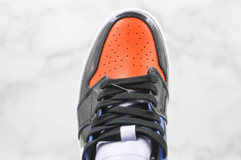 乔丹Air Jordan 1 mid Game Time纯原版本中帮AJ1游戏时间漆皮彩虹色篮球鞋内置气垫原盒原标 货号:CV5276-001