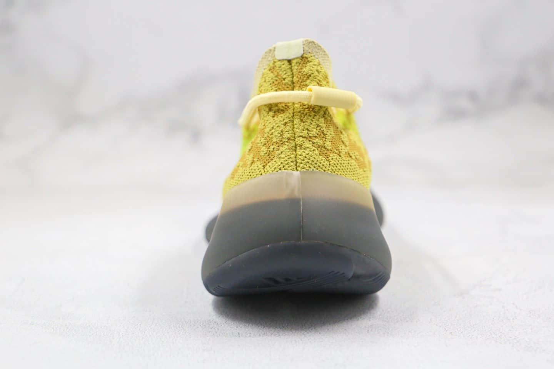 阿迪达斯Adidas Yeezy 380 Boost公司级版本侃爷同款椰子爆米花跑鞋380棕黄深灰黑色原厂巴斯夫缓震大底 货号:FZ4990