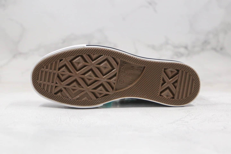 匡威Converse Chuck Taylor All Star Canvas Platform High Top公司级版本高帮厚底帆布鞋松糕鞋黑色超清洁度 货号:560845C