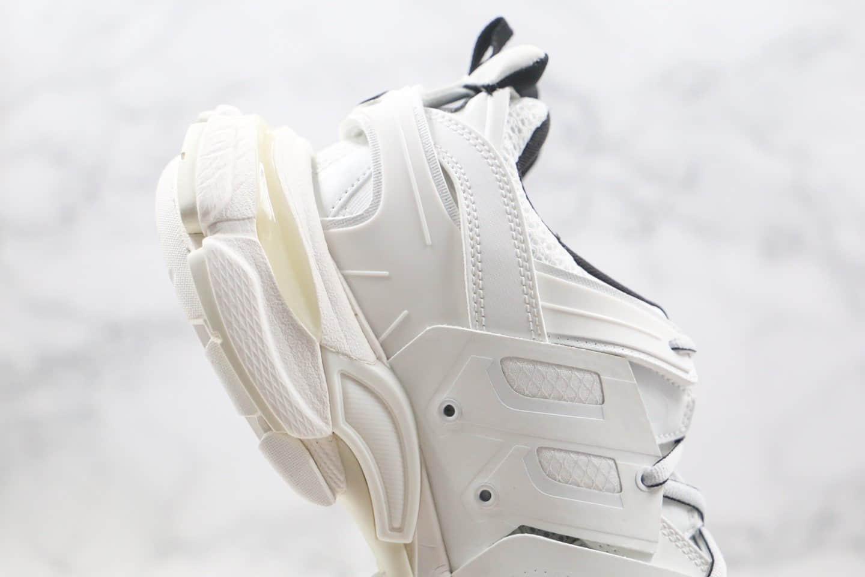 巴黎世家Balenciaga Sneaker Tess 3.0纯原版本复古老爹鞋3.0纯白色原装大盒