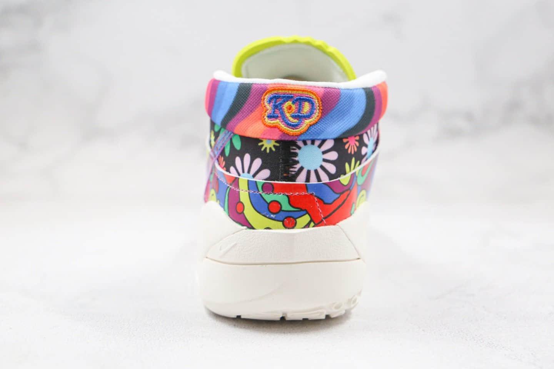 耐克KD13 Zoom EP纯原版本杜兰特13代篮球鞋村上隆小花配色内置气垫支持实战 货号:DA1341-100