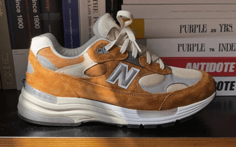 Packer x NB992联名曝光!这双复古跑鞋你值得一看!