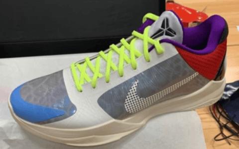 鞋王塔克专属Nike Kobe 5配色曝光!辨识度超高! 货号:CD4991-004