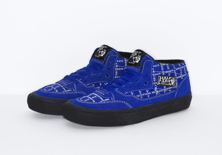 全新Supreme x Vans联名明日发售!六双鞋你pick哪双?