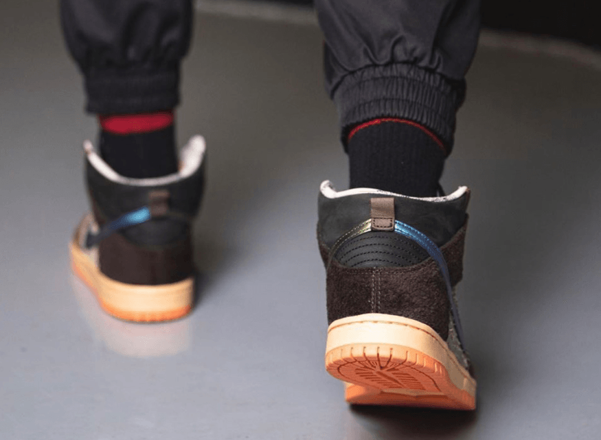 "绿头野鸭配色!Concepts x Nike SB Dunk High"" Duck""上脚图释出!"