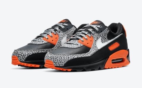 "经典石斑纹!全新Nike Air Max 90"" Safari""下月登场! 货号:DA5427-001"