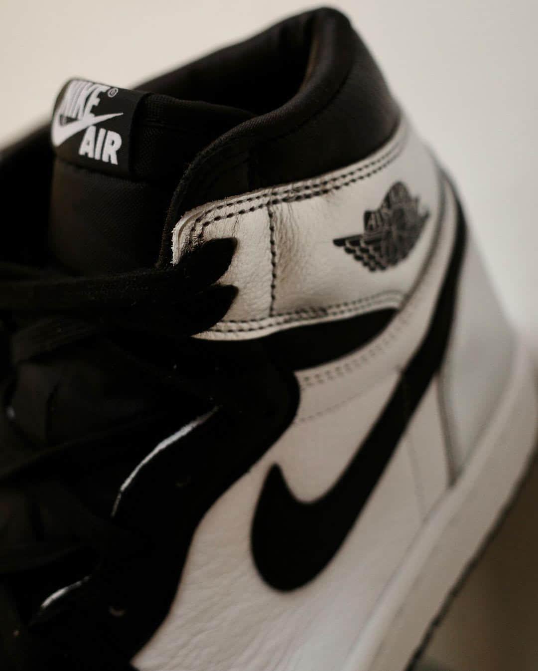 AJ1黑银脚趾最新实物图释出!明年正月初一发售! 货号:CD0461-001